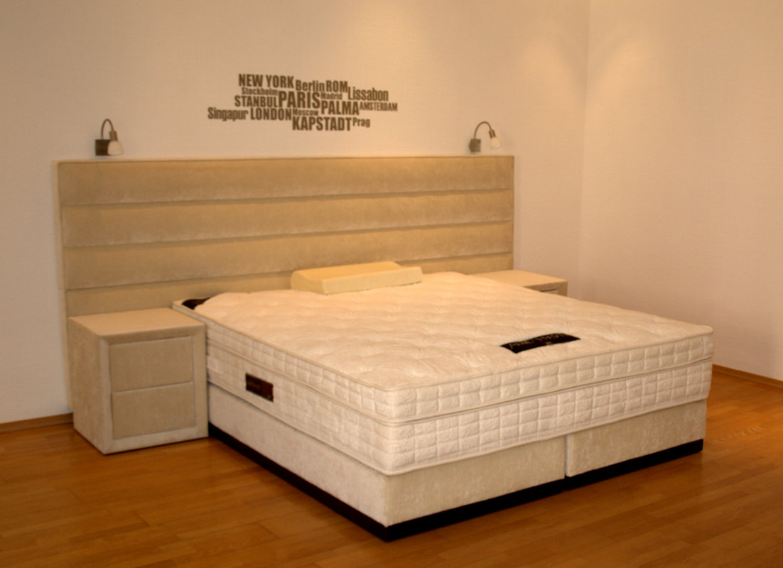 boxspringbetten von king koil schlafzimmer ausstellung. Black Bedroom Furniture Sets. Home Design Ideas
